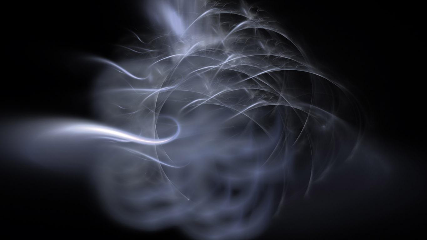 обои огонь и дым