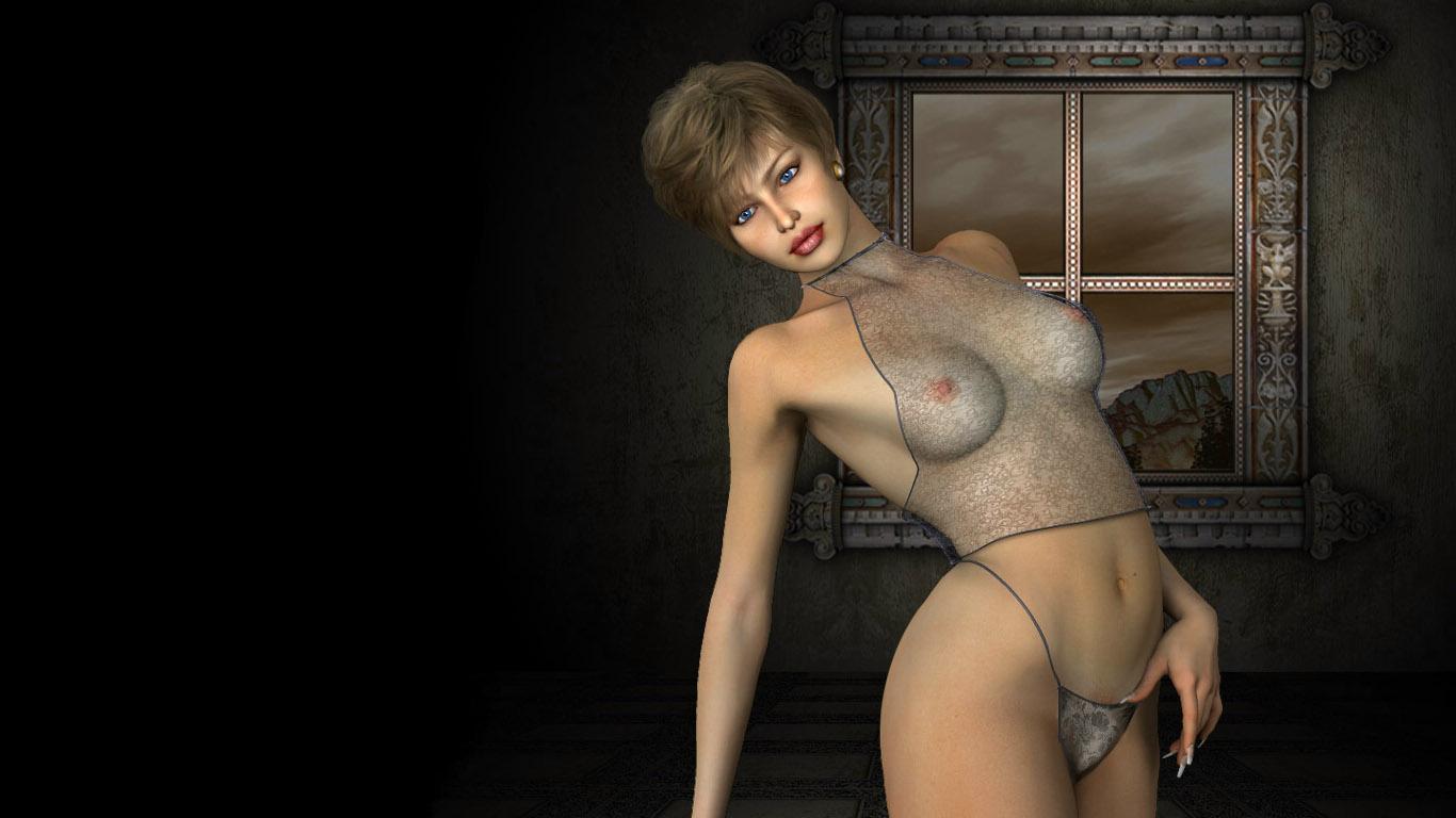 Фото голых 3d девушек