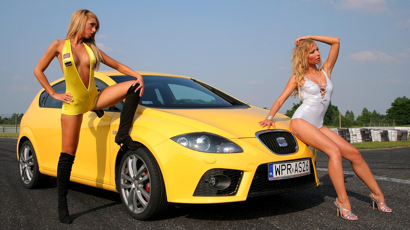Сексуальные машины с девочками
