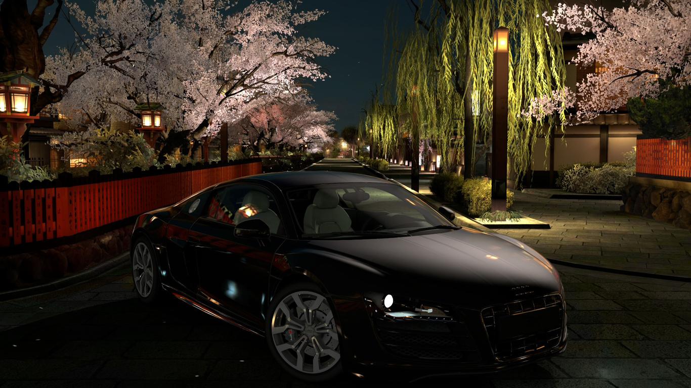 сезонное красивое фото машин ночью на рабочий стол дальнейшем семья