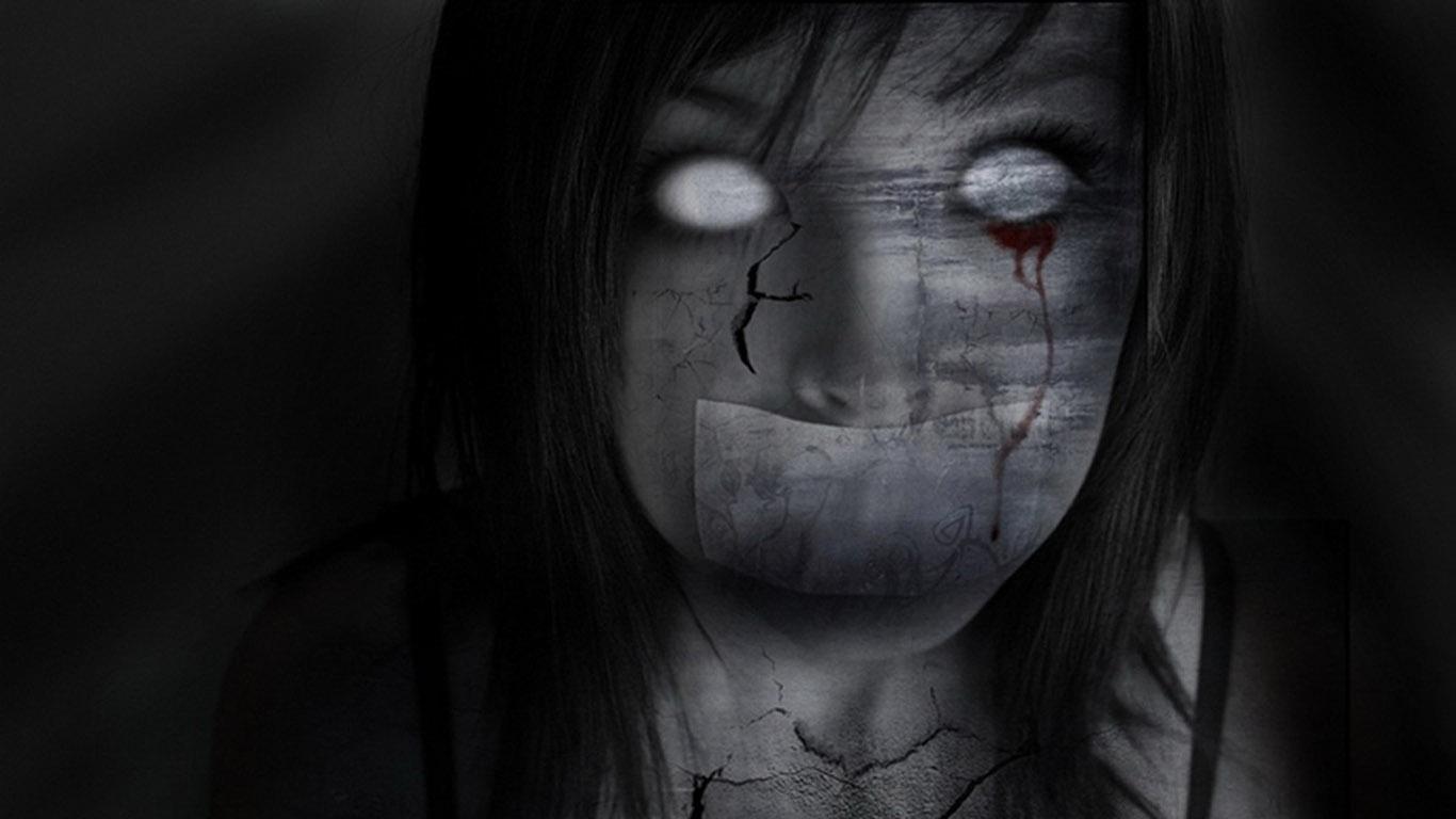 Страшные фото девушек 27 фотография