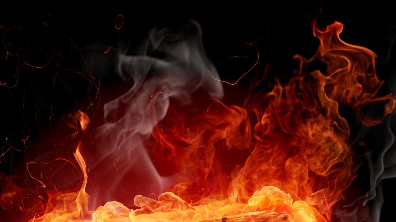 пламя живое на рабочий стол