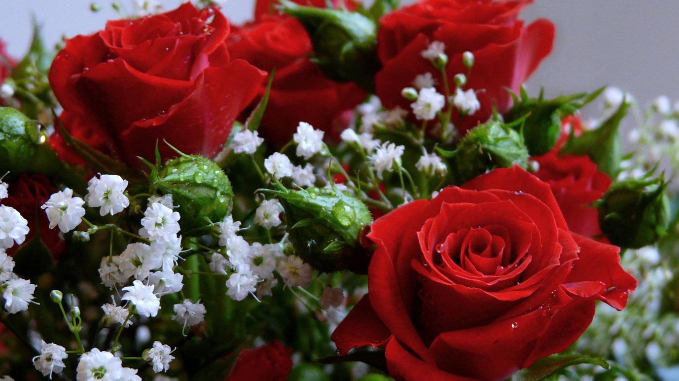 Цветы розы букеты красивые картинки