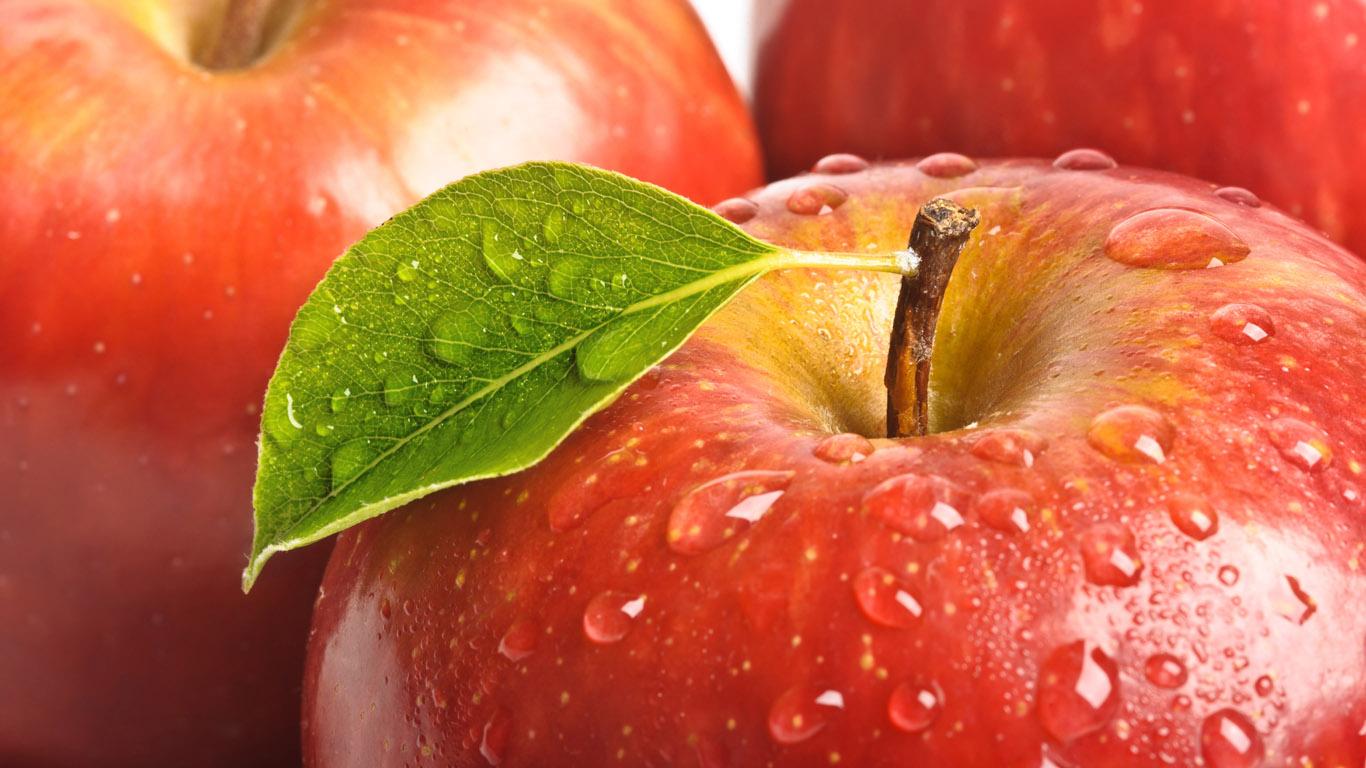 Обои на рабочий стол яблоки фрукты