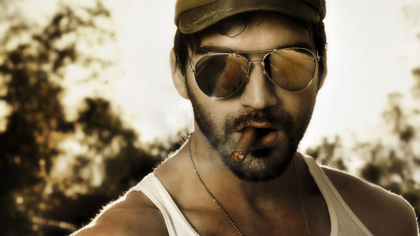 мужик с сигарой картинки