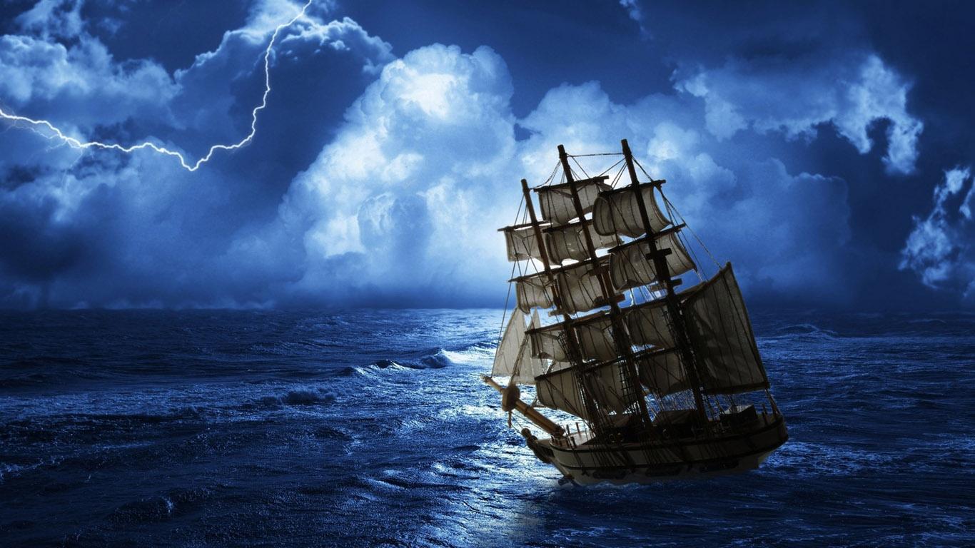 фотообои корабли: