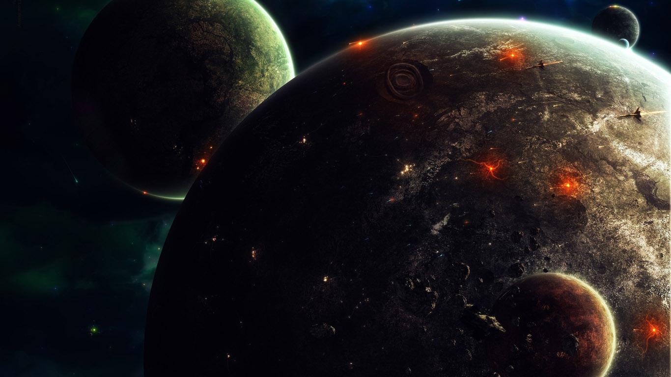 Картинки космоса красивые - c8