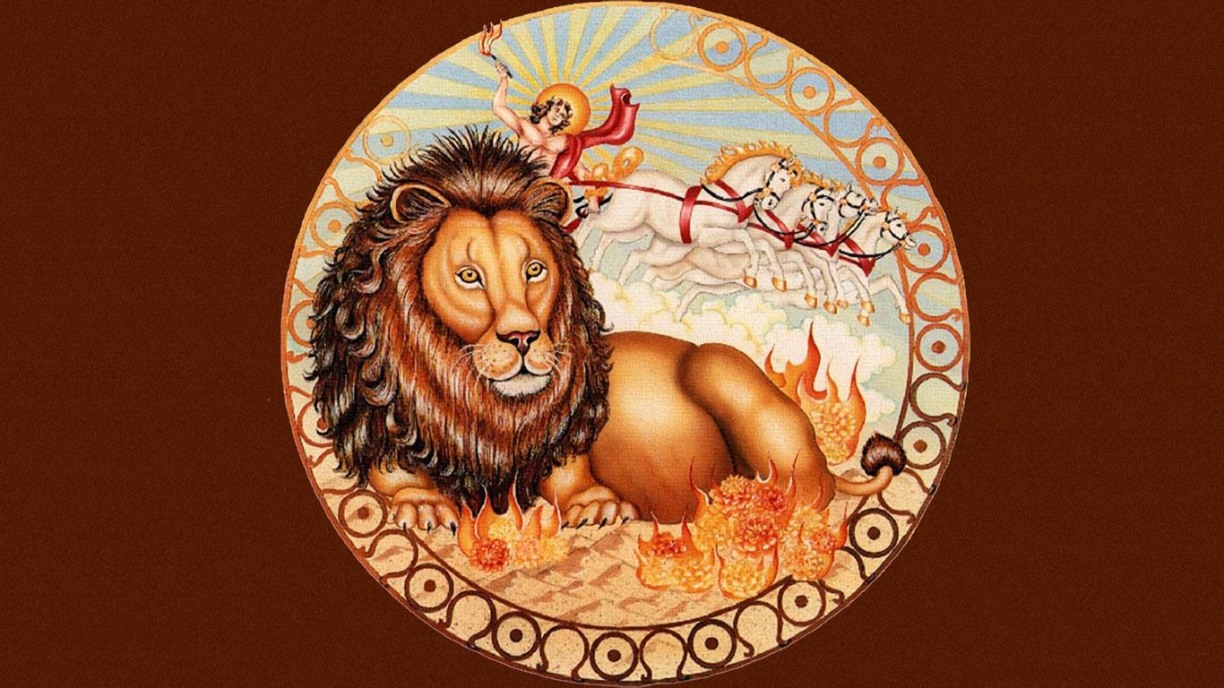 картинки с знаком задиака лев